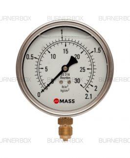 Gas Pressure Gauge 42 Bar
